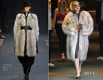 Lady Gaga In Hermès - Hotel Kempinksi Zografski