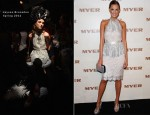 Laura Dundovic In Jayson Brunsdon – MYER Spring Summer 2013 Launch