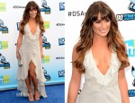 Lea Michele In Giorgio Armani - 2012 Do Something Awards