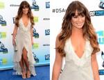 Lea Michele In Giorgio Armani - 2012 Do Something Awards