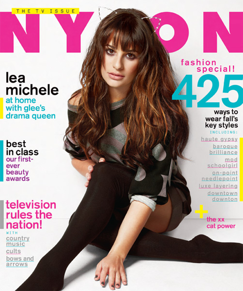 Lea Michele NYLON September 2012