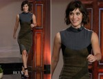 Lizzy Caplan In Stella McCartney - The Tonight Show with Jay Leno