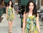 Mary Louise Parker In Alberta Ferretti – Late Show With David Letterman