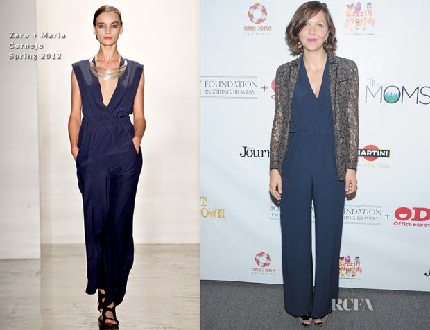 Maggie Gyllenhaal In Zero + Maria Cornejo - 'Won't Back Down' New York Screening
