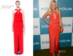 Malin Akerman In Cushnie et Ochs - 11th Annual InStyle Summer Soiree