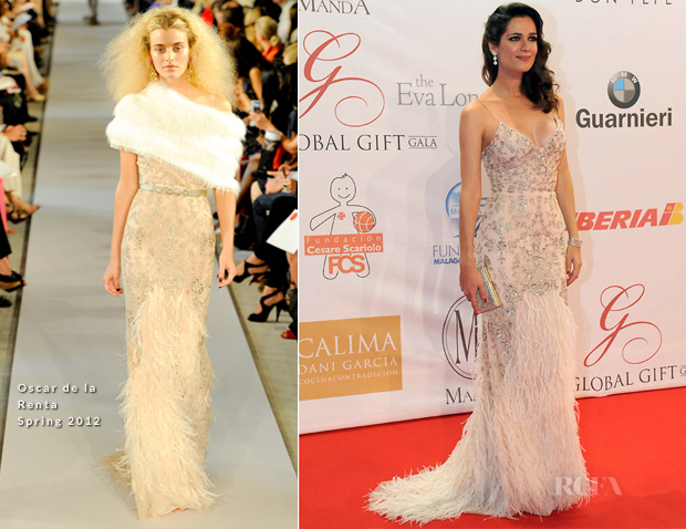 Mar Saura In Oscar de la Renta - Global Gift Gala