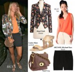 Steal Her Style: Maria Sharapova's Silver Medal Celebratory Look