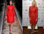 Maria Sharapova In Valentino - Hamptons Magazine Cover Party