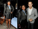 Mindy Kaling In Equipment, Tracy Reese & Milly - The Hollywood Reporter Celebrates 'The Mindy Project'