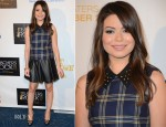 Miranda Cosgrove In Juicy Couture & Carven - CBS' Teacher's Rock Special Live Concert