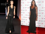 Naomi Campbell In Roberto Cavalli - Fashion for Relief Charity Dinner