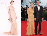 Naomi Watts In Marchesa - 'The Reluctant Fundamentalist' Venice Film Festival Premiere & Opening Ceremony