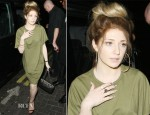 Nicola Roberts In Topshop Boutique - Rose Club