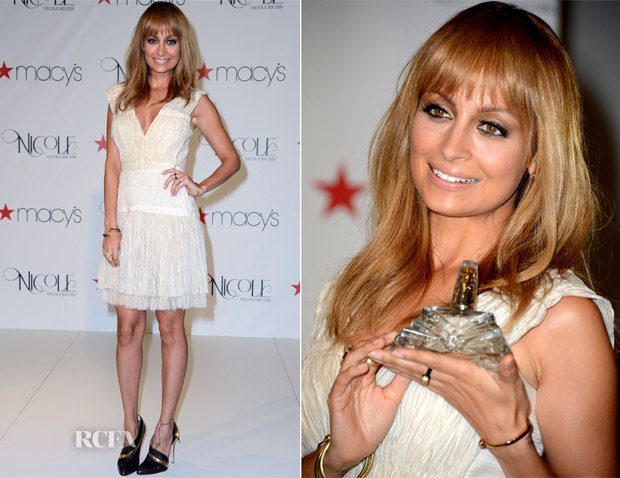 Nicole Richie In Alberta Ferretti - 'Nicole' Fragrance Launch