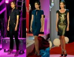 Nieves Alvarez In David Delfin, Dsquared² & Marchesa - Solo Moda