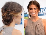 Nikki Reed's 'Do Something Awards' Beachy Chignon