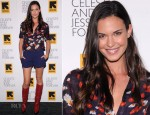 Odette Annable In Alice + Olivia - 'Celeste And Jesse' New York Premiere