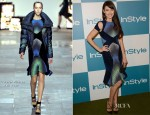 Olga Kurylenko In Peter Pilotto - 11th Annual InStyle Summer Soiree
