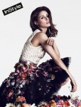 Antonio Berardi silk blouse and tulle skirt by McQ by Alexandra McQueen