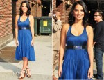Olivia Munn In Raquel Allegra - The Late Show with David Letterman