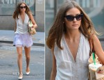 Olivia Palermo In Fifteen-Twenty & StyleStalker - Out In New York City