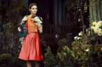 Giorgio Armani dress and Louis Vuitton bagg