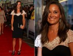 Pippa Middleton In Alice by Temperley - 'Shadow Dancer' London Premiere