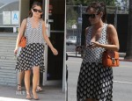 Rachel Bilson In Rag & Bone - Out In LA