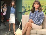 Rashida Jones In Boy. by Band of Outsiders - Good Morning America
