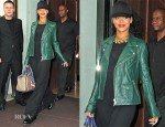 Rihanna In McQ Alexander McQueen - Out In London