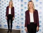 Rosamund Pike In Christopher Kane - The Stone Roses Adidas Secret Gig