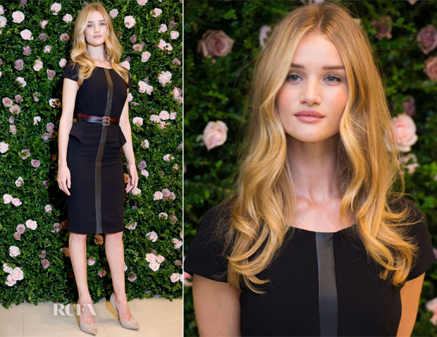 Rosie Huntington-Whiteley In Autograph For M&S - The Launch Of The Rosie For Autograph Collection