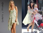 Selma Blair's Lovers + Friends Camilla Dress