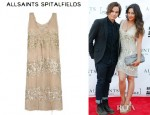 Shay Mitchell's All Saints Restrain Dress