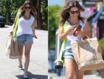 Sophia Bush Carries Her Apolis Bag