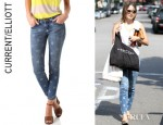Sophia Bush's Current/Elliott Star Stiletto Jeans