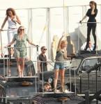 Victoria Beckham In Celine - Spice Girls Rehearsals