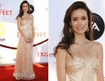 Summer Glau In ERIN by Erin Fetherston - Dizzy Feet Foundation Second 'Celebration of Dance' Gala