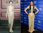 Tika Sumpter In Bill Blass - 'Sparkle' New York Screening