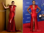 Tika Sumpter In Marc Bouwer - 'Sparkle' LA Premiere