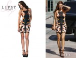 Una Healy's Lipsy Printed Contour Dress