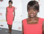 Viola Davis In Rachel Roy - 'Won't Back Down' New York Screening