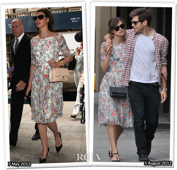 c3cee44aea Back in May Linda Evangelista was spotted wearing an Erdem  Anouska  floral  dress from the Spring 2012 collection while on her way to the Manhattan  Family ...