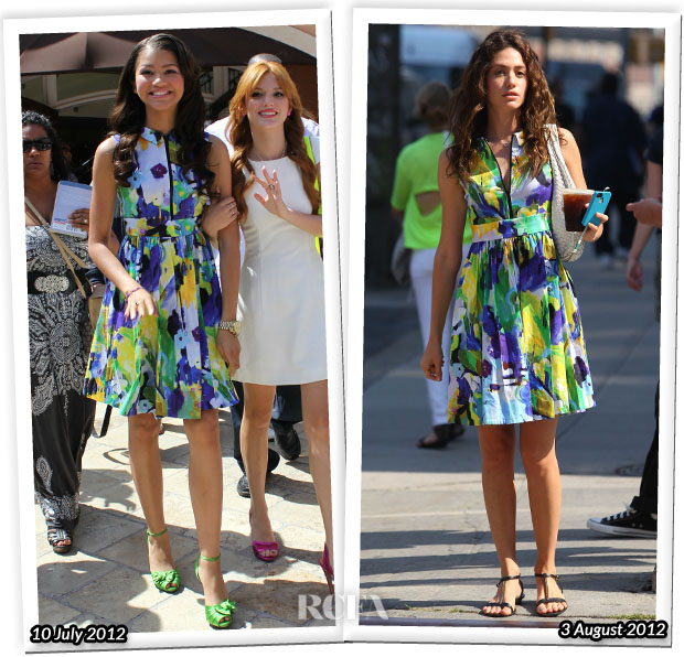 e547733f0161 Who Wore Kate Spade New York Better  Zendaya or Emmy Rossum  - Red ...