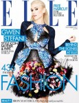 Gwen Stefani For Elle UK October 2012