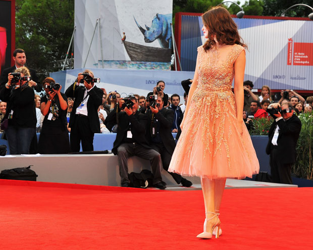 Laetitia Casta in Elie Saab Couture