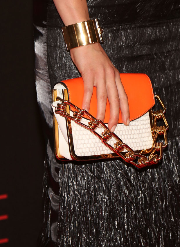 Rachael Taylor's Reed Krakoff clutch