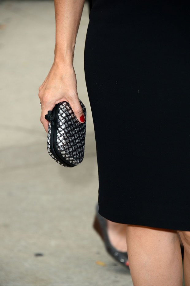 Jennifer Garner's Bottega Veneta clutch