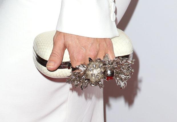 Kate Hudson's Alexander McQueen clutch
