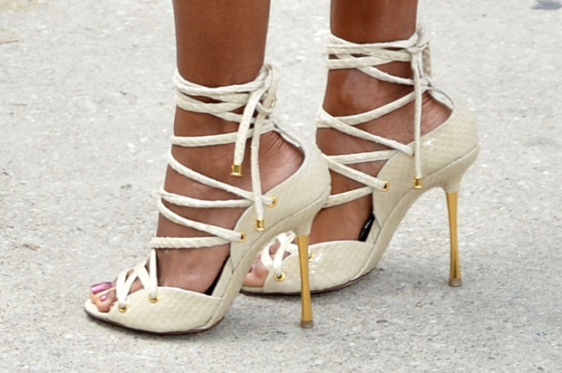 Jada Pinkett-Smith's shoes
